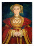 Portrait of Anne of Cleves (1515-57) 1539 Giclée-Druck von Hans Holbein the Younger