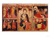 Altarpiece of St. Maria De Avila, Bergueda, circa 1170-90 Giclee Print