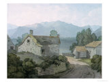 On Ullswater, Cumberland, 1791 Giclee Print by John White Abbott