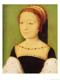 Madeleine De France (1520-37) Queen of Scotland, 1536 Giclee Print by Claude Corneille de Lyon