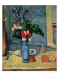 The Blue Vase, 1889-90 Premium Giclee Print by Paul Cézanne