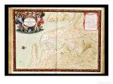 """Karte von Corncarneau, from the """"Atlas Louis XIV,"""" 1683-88 Giclée-Druck von Sebastien Le Pretre de Vauban"""