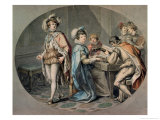The Jealousy of Darnley Giclee Print by Giovanni Battista Cipriani