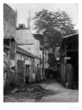 Courtyard at Rue Larrey 8, Paris, 1858-78 Giclee Print by Charles Marville
