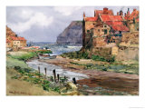 Staithes, circa 1897-1918 Premium Giclee Print by Wilfred Williams Ball