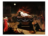 Apotheosis of Semele Giclee Print by Antoine Caron