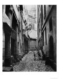 Rue Du Haut Moulin, from Rue De Glatigny, Paris, 1858-78 Giclee Print by Charles Marville