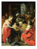 Adoration of the Magi, 1626-29 Giclee Print by Peter Paul Rubens