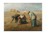 The Gleaners, 1857 Giclee Print by Jean-François Millet