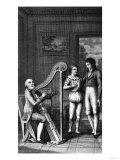 """Illustration from """"Wilhelm Meister's Apprenticeship"""" by Johann Wolfgang Goethe (1749-1832) 1802 Giclee Print"""