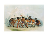 Buffalo Dance, circa 1832 Giclee Print by George Catlin