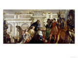 Family of Darius Before Alexander the Great (356-323 BC) Giclée-tryk af Paolo Veronese
