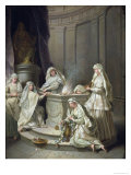 Vestal Virgins, 1727 Giclee Print by Jean Raoux