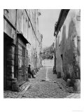Rue Gracieuse, from Rue Daubenton, Paris, 1858-78 Giclee Print by Charles Marville