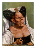 A Grotesque Old Woman, Possibly Princess Margaret of Tyrol, circa 1525-30 Giclee Print by Quentin Metsys