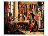The Couturier's Workshop, Arles, 1760 Giclee Print by Antoine Raspal