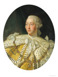 Portrait of King George III (1738-1820) after 1760 Giclee Print by Allan Ramsay