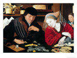 The Tax Collector Giclee Print by Marinus van Roejmerswaelen