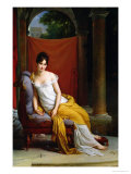 Portrait of Madame Recamier (1777-1849) Reproduction procédé giclée par Francois Gerard