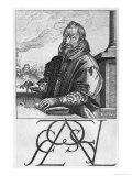 Christophe Plantin (circa 1520-89) Giclee Print by Hendrik Goltzius