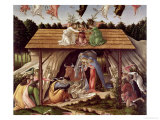 Mystic Nativity, 1500 Giclee Print by Sandro Botticelli