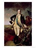 George Washington at Princeton Giclee Print by Charles Willson Peale