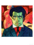 Self Portrait, 1908 Giclee Print by Kasimir Malevich