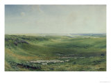 Wide Pastures, Sussex Giclee Print by Thomas Collier