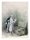 The Deed Chest Giclee Print by George Henry Boughton