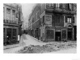Rue Maitre Albert (From Quai De La Tournelle) Paris, 1858-78 Giclee Print by Charles Marville
