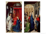 St Columba Altarpiece, c. 1455 Giclee Print by Rogier van der Weyden