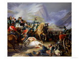 The Battle of Rivoli, 1844 Giclee Print by Felix Philippoteaux