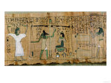 Funerary Papyrus of Djedkhonsouefankh of the Judgement of the Deceased, Third Intermediate Period Giclee Print