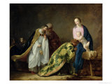 The Adoration of the Magi, 1638 Giclee Print by Pieter Fransz. de Grebber