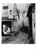 Rue Chanoinesse, from Rue Des Chantres, Paris, 1858-78 Giclee Print by Charles Marville