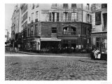 Place Gozlin, Paris circa 1865 Giclee Print by Charles Marville