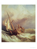 On the Dogger Bank, 1846 Giclee Print by William Clarkson Stanfield