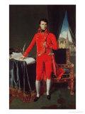 Bonaparte as First Consul (1769-1821), 1804 Reproduction procédé giclée par Jean-Auguste-Dominique Ingres