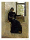 Waiting, Before 1905 Giclee Print by Jean-Pierre Laurens