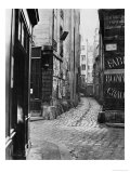 Impasse Des Bourdonnais, from Rue De La Limace, Paris, 1858-78 Giclee Print by Charles Marville
