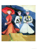 Three Female Figures, 1910-11 Giclee Print by Alexandra Exter