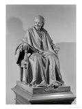 Seated Sculpture of Voltaire (1694-1778) Giclee Print by Jean-Antoine Houdon