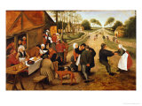 A Flemish Kermesse Giclee Print by Pieter Brueghel the Younger