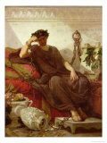 Damocles, 1866 Giclee Print by Thomas Couture