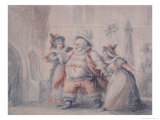 Falstaff's Escape Giclee Print by Henry William Bunbury