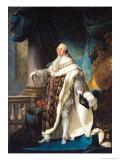 Louis XVI (1754-93) Giclee Print by Antoine Francois Callet