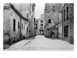 Rue Des Marmousets Saint-Marcel, from Rue Saint-Hippolyte, Paris, 1858-78 Giclee Print by Charles Marville