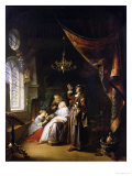The Dropsical Woman, circa 1663 Giclee Print by Gerrit Dou
