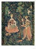 La Vie Seigneuriale: Embroidery, circa 1500 Giclee Print