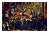 Trial of Galileo, 1633 Giclee Print